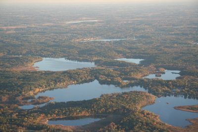 Lakes and forest original