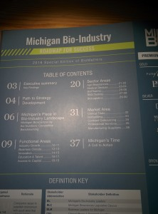 Table of Contents - Michigan Biotech Roadmap for Success