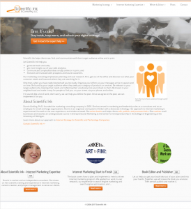 complex homepage screenshot
